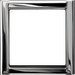 Рамка LS-design (блестящий хром)