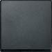 Клавиша M-Pure Décor (пластик антрацит)