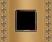 Рамка Crystal De Luxe (вельвет (бархатный)/блестящее золото)