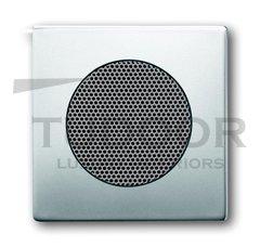 Плата центральная (накладка) для громкоговорителя 8223 U, серия pur/сталь