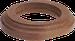 Рамка Овал наружный монтаж (дуб коричневый)