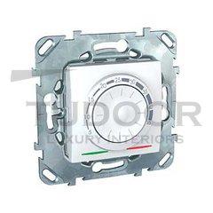 Термостат механический, с выносным датчиком для электрического подогрева пола 230 В~ 8А, пластик белый