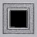 Рамка Crystal De Luxe (блестящий хром)